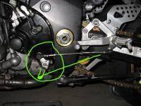 Стандартный порядок переключения передач на мотоцикле - 1 вниз, потом нейтраль, 2-3-4-5-6 вверх.