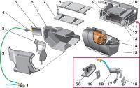 ВАЗ 2110: Рециркуляция воздуха
