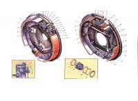 5. Цилиндр главный.  6. Сигнализатор.  7. Тормозные механизмы передние.  8. Шланг гибкий передний.
